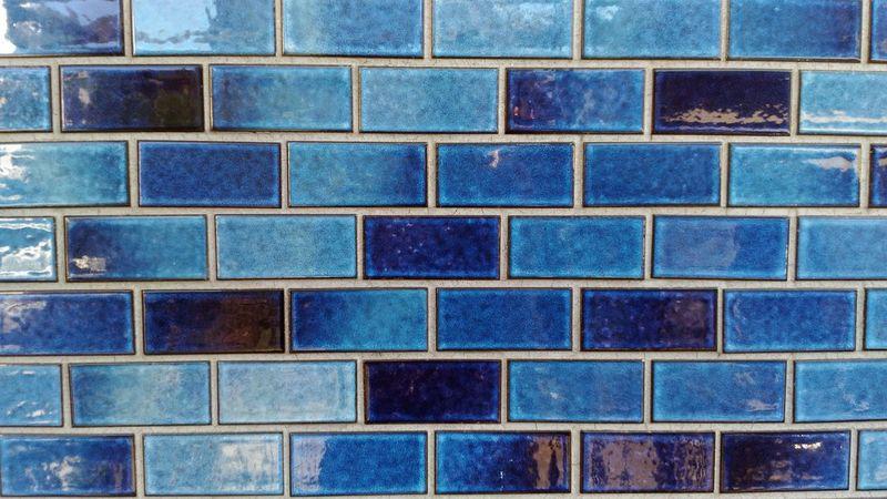 Blue Blue Colour Bluewall Blue Wall Tile Tiles Bluetile Bluetiles Blue Tiles Tiled Wall Streetphotography Street Photography