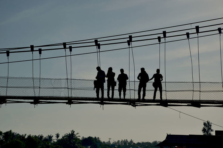 standing on the bridge Sunset Sunset_collection Sunset Silhouettes Sunset #sun #clouds #skylovers #sky #nature #beautifulinnature #naturalbeauty #photography #landscape Work Hardwork Hardworking Worker Black & White Black And White INDONESIA Indonesia Photography  ASIA Cultures Culture Autumn Mood 17.62° The Street Photographer - 2019 EyeEm Awards