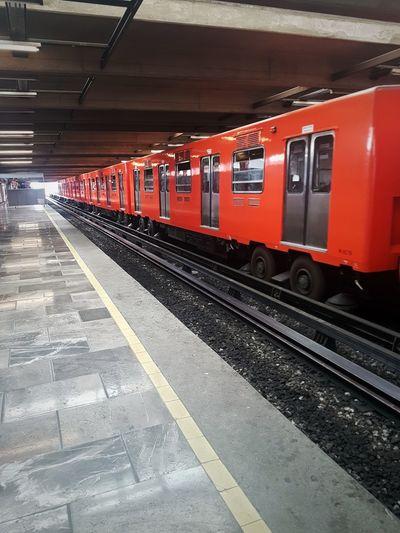 orange subway