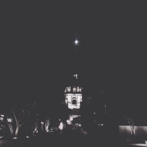 The moon over Pasadena. Eye4nightlight AMPt_community Blackandwhite