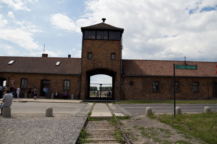 Aushwitz Aushwitz Residence Aushwitz-Birkenau Crakow Death Camp Eastern Europe Poland Architecture Aushwitz Camp Building Exterior Built Structure Cloud - Sky Concentration Camp Concentrationcamp Day Killing Krakow No People Outdoors Sad Sky