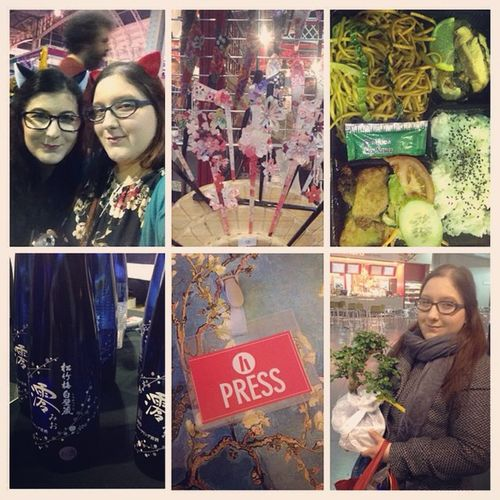 What a wonderful day packed full of Japanesetreats at Hyperjapan