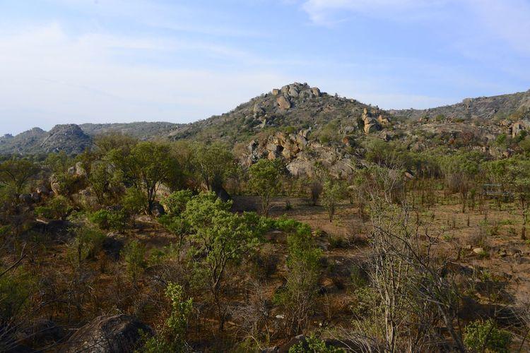Rhodes Matopos National Park MatopoHills National Park Rhodes UNESCO World Heritage Site Zimbabwe Africa Landscape Rhodes Matopos National Park Unesco