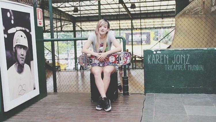 Karen Jonz Skater Girl Skate Life Relaxing