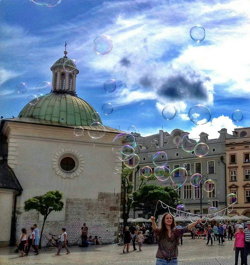 I could spend my whole life walking every day in new city⛺🌍💫✨ Bubbles Airbubbles Magic Moments Myfeelings Mypassion Trip Photo Krakow Poland MyDay Myopiniononly