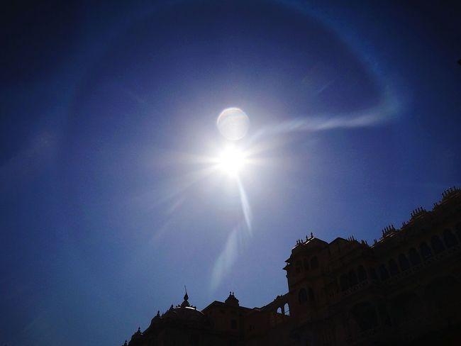 Sun Glare Lens Glare Fort Blue Sky Fliters Sky This Week On Eyeem EyeEm Gallery Eyem Best Edits Cobalt Blue By Motorola