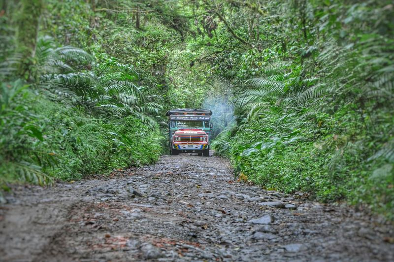 Hello World Awesomeplace Nature Photography Eyeemphotography Landscape Mountainscape Chiva Manizales Schoolbus Summer Road Tripping