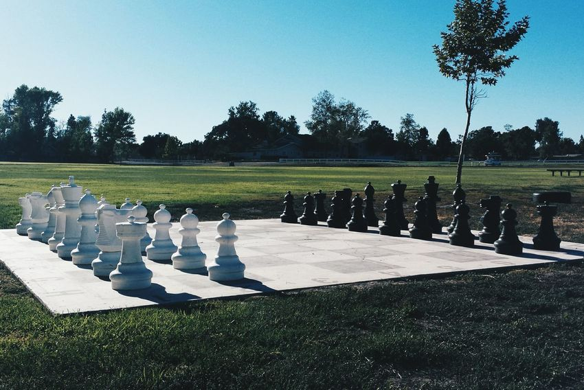 Giant chess board Mobile Photography Chess Chessboard Chess Set Landscape