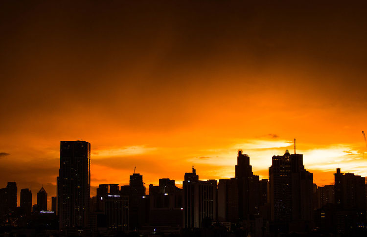 After storm sky over Makati, Philippines. September 25, 2016. Photo by Olga Mihova #sunset #sun #clouds #skylovers #sky #nature #beautifulinnature #naturalbeauty #photography #landscape Everydayphilippines EyeEm Gallery Landscape Philippines Skyline Travel Travel Photography