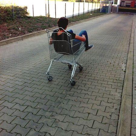 Einkaufswagen swäg🌈
