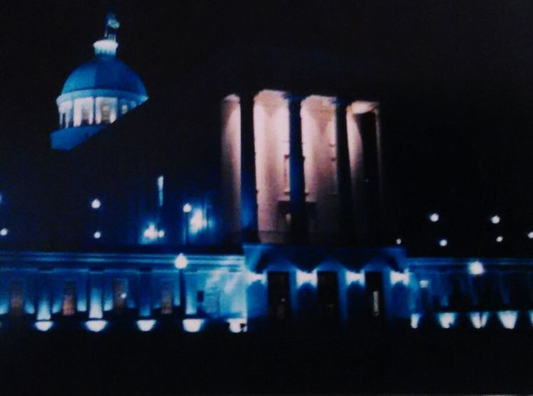 I Love My City Montgomery, Al. State Capital Building Nighttime Things I Like