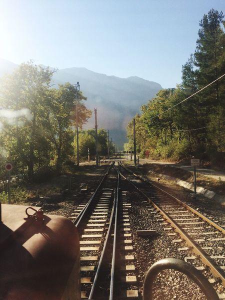 ... Belemedik tren istasyonu Doğa içinde misk kokulu yolculuk... Railroad Track First Eyeem Photo