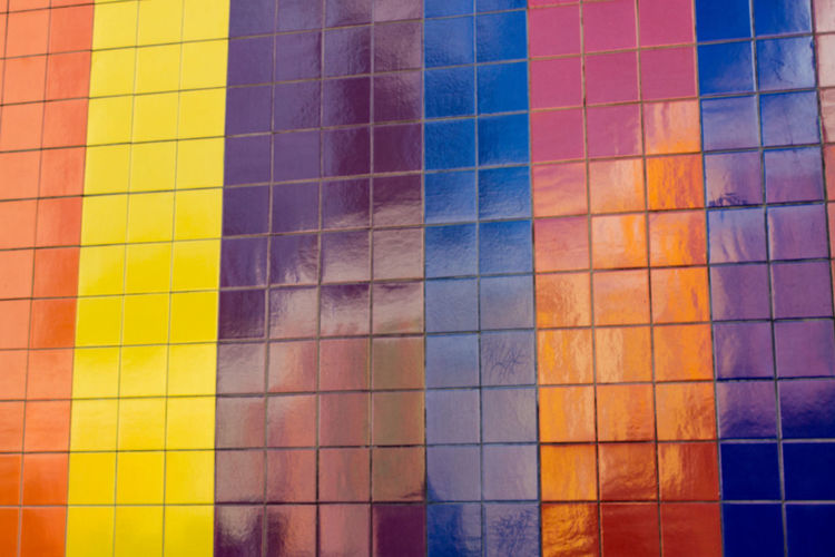 Full frame shot of colorful abstract background
