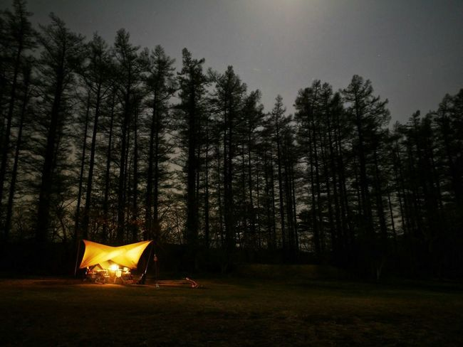 Camp site at Yakrbasiri(Iwate Japan) Japan Tohoku Iwate Prefecture Landscape