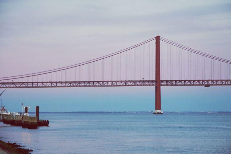 Bridge over sea