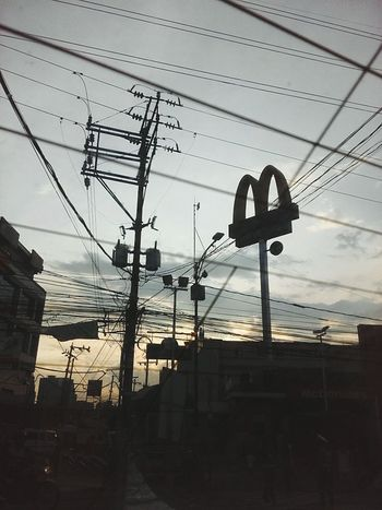 Love ko to ❤ Mcdonalds Exquisite Sunset EyeEm