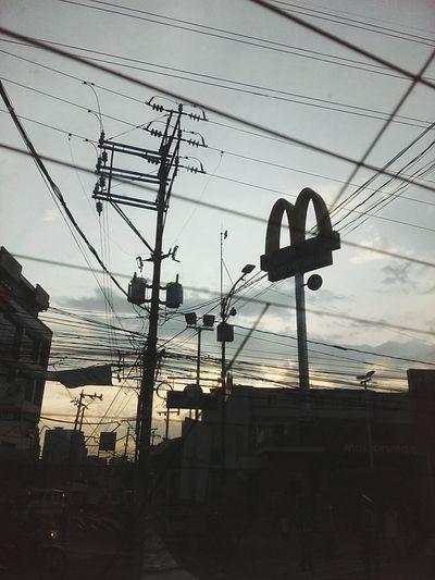 Love ko to ❤ Mcdonalds Exquisite Sunset EyeEm