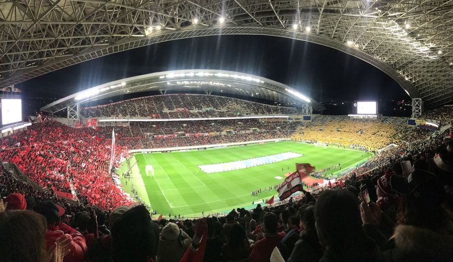 CUP FINAL Coreography Cup Final Football Stadium Football Stadium Group Of People Crowd Large Group Of People Stadium Sport Real People Night Soccer Team Sport