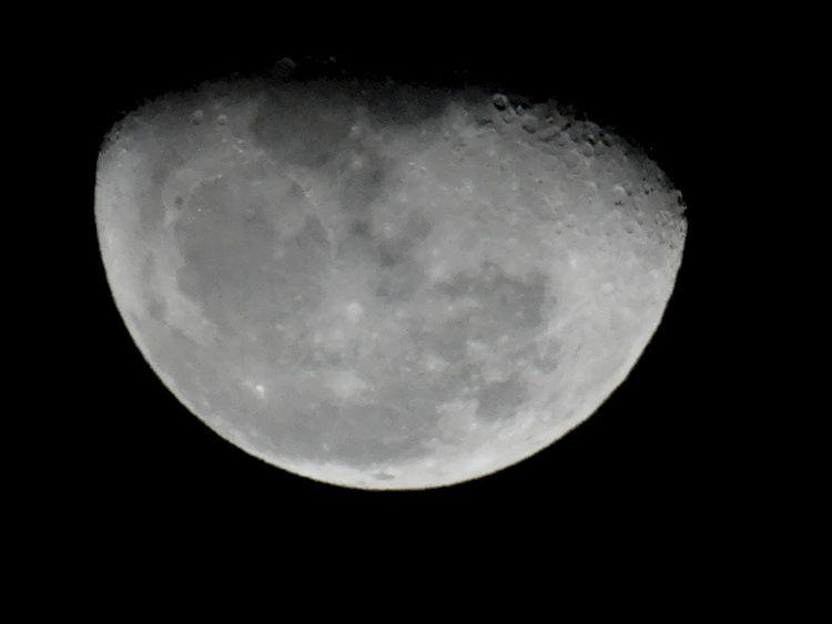 Moon in Bejaia Taking With My Sony DSC-HX50