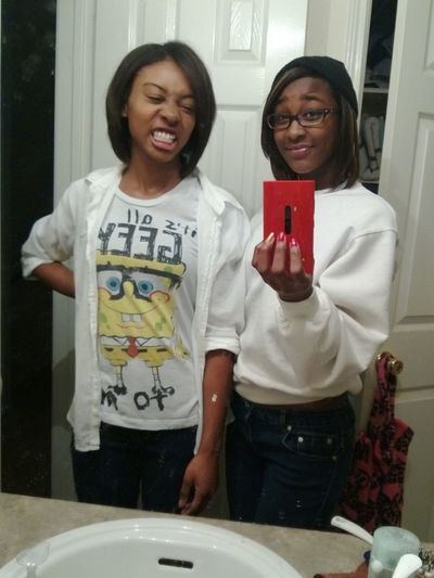 My Thugg Ass Cousin And Me:)