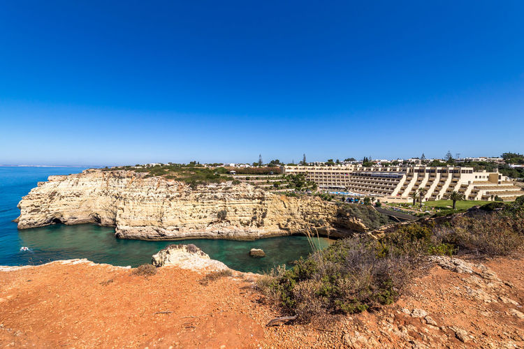 Impressions from Carvoeiro and Lagos, Algarve, Portugal Beach Beachphotography Portugal Algarve Carvoeiro Lagos Praia Do Camilo Tivoli Atlantic Ocean Beauty In Nature Tranquility Wooden Walkway Sunset Relaxing Rocks And Water