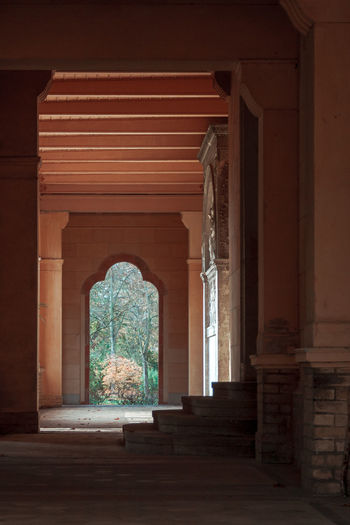 Gate Stairs Architectural Column Architecture Built Structure Day Door History Indoors  No People Shadow