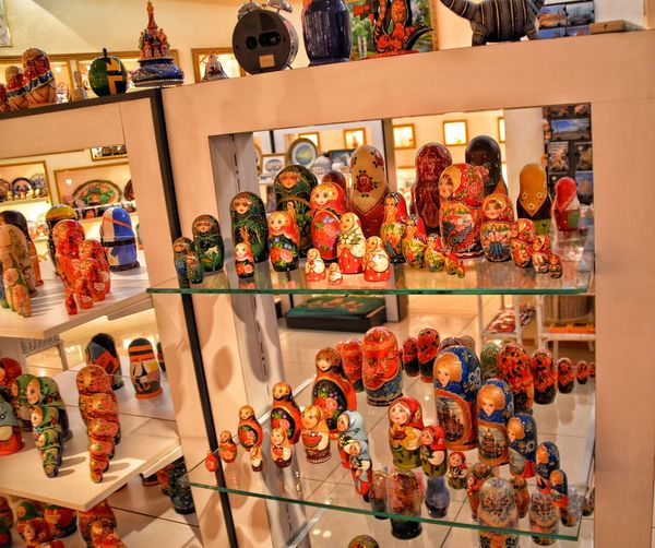 Matryoshkas Everywhere .. Shelf For Sale Store Arts Culture And Entertainment EyeEmNewHere Around_the_world St. Petersburg Travel Travels St. Petersburg, Russia Tourism Live For The Story Russian Folklore Tours Matryoshka Russian Doll Nesting Doll