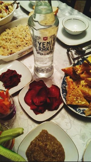 Food And Drink Food Plate Indoors  Table Freshness Ready-to-eat No People Healthy Eating Close-up Day Yenirakı Turkey Hello World