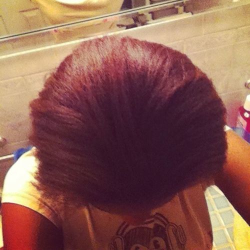 My Red Hair:)