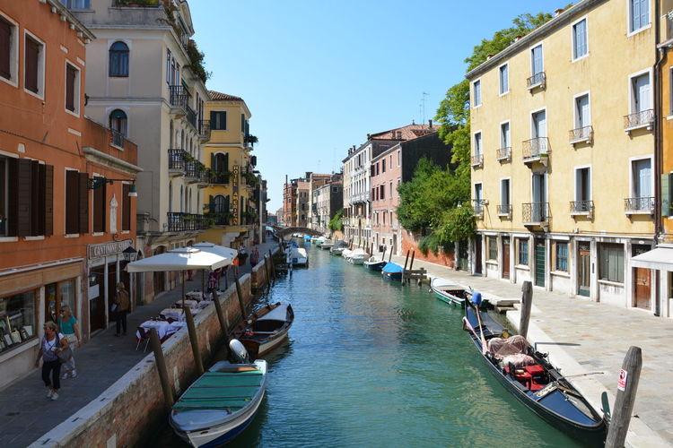 Life in Venice Architecture Bridges Canal Canal Grande Day Gondola San Marco Venice Venice, Italy Water