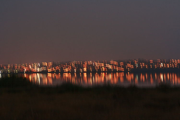 This is famous Salina Rosa de Torrevieja - salt lake with pink water. True nature´s miracle. Blur Blur Light City Lights Lake Lake View Landscape Night Blur Night Lights Night Photography Night View Reflections In The Water Salinas Salina Rosa, Torrevieja, Spain Overnight Success