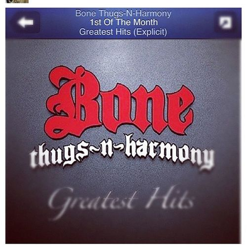 Perfect for today got this from the homie @nek_neeks 1themonh Bonethugz Wakenbake