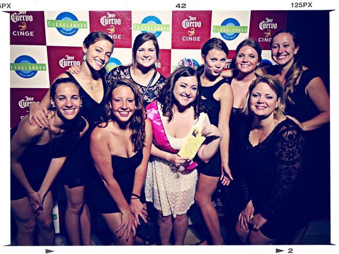 My bachelorette party at miami! Miami SoBe Bacheloretteparty Bachelorette