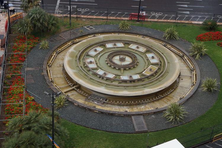 Circle Comunidad Valenciana Comunitat Valenciana Espana-Spain España🇪🇸 Fountain Fuente No People Ornate Plaza Del Ayuntamiento Regne De Valencia Reino De Valencia Valencia, Spain