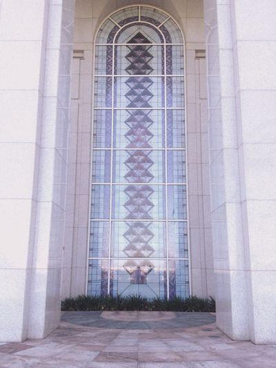 Vitral Geometric Shape Simetry Architecture Arch No People Building Exterior Temple - Building Temple Glass