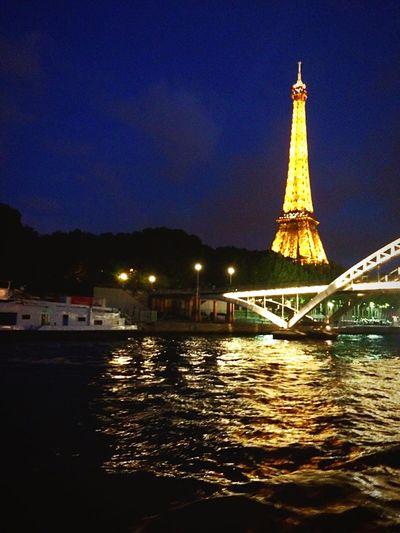 Seine Paris Effeil Tower Light Night Check This Out