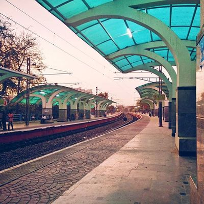 Station on Oneplusone with VSCO Opography Onepluslife Hyderabad