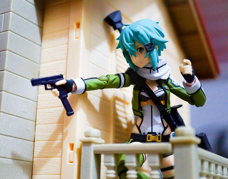 One shot one kill Actionfigurephotography Anime Toyphotographer Toycommunity Actionfigurecollections Actionfigures Sword Art Online