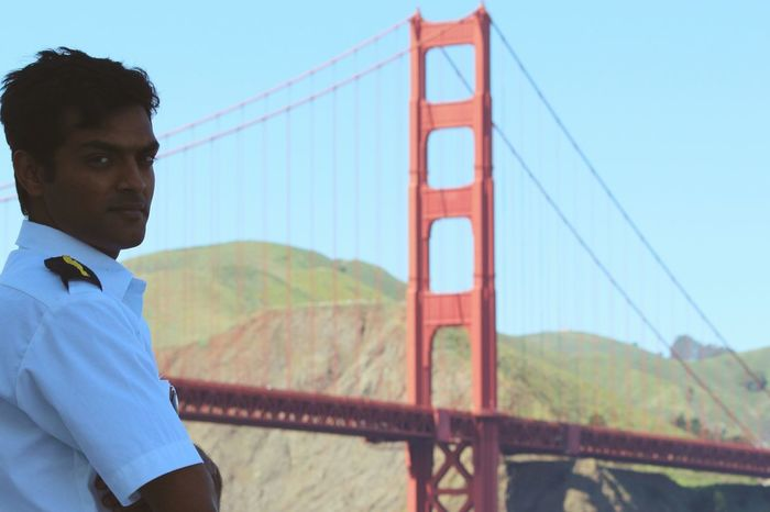 Mariner GoldenGateBridge Aroundtheworld Navigator  San Francisco