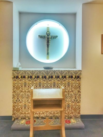 Dora Roberts Chapel Hospital Life Crucifix Chapel Alter EyeEm Selects Indoors  Chair No People Architecture Built Structure Luxury