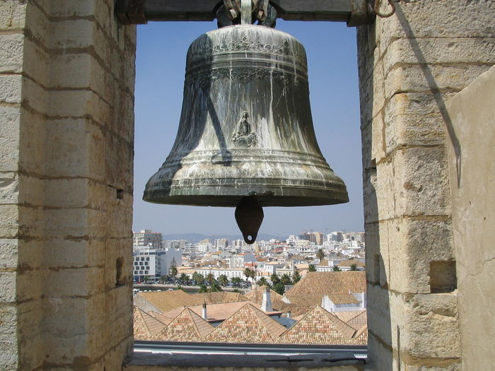 Architecture Bell Brassbell City Historic No People Porto Portugal