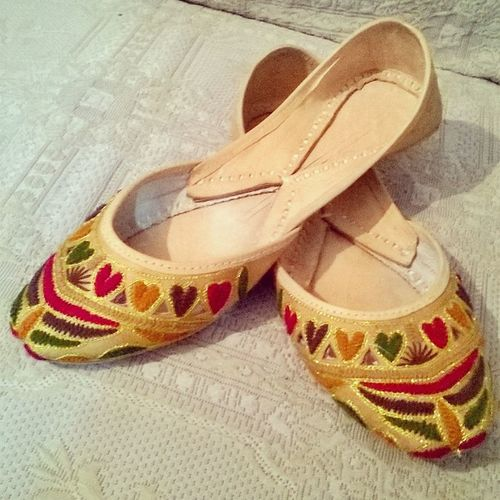 My New Khussa Clssic Traditional love colors beauty loving it ???