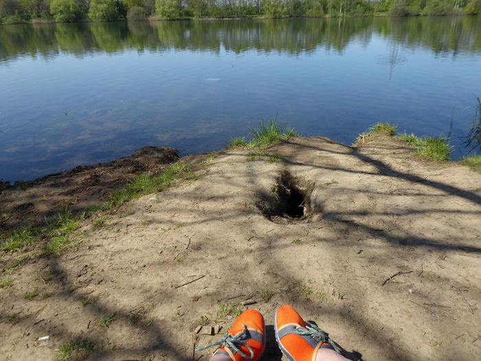 a cave🤔🤗at my lake Come On❣come Out❣😂 Calming Place Enjoying Life Enjoying The Sun For My Friends 😍😘🎁 Surrounded By Nature Nature Is My Sanctuary 🌳💚 Miss You ♡ Lakesideview Nature Is My Religion Mood Captures My Little Lake😍 I Love The Silence Sometimes My Sanctuary❤ Loading My Akku🌞😍 Before Work View I Need A Break Low Section Water Beach Sand Reflection High Angle View Human Leg Shadow Stay Out Springtime Decadence