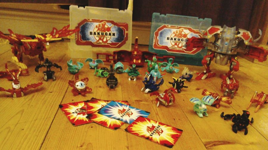 Bakugan Love Ventus Pyrus Aquas Darkus Dragonoidcollosus Dragonoiddestroyer Case