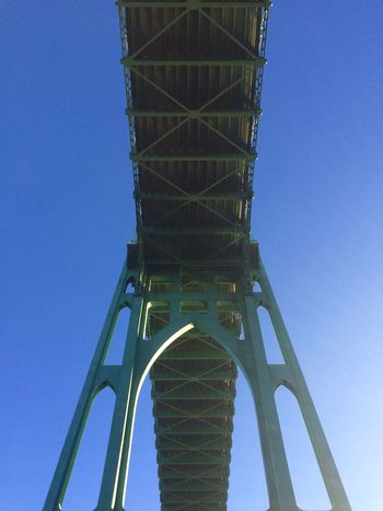 Eye4photography  St. Johns Bridge  Architecture Architecture_collection Lookingup Interesting Perspectives Bridge
