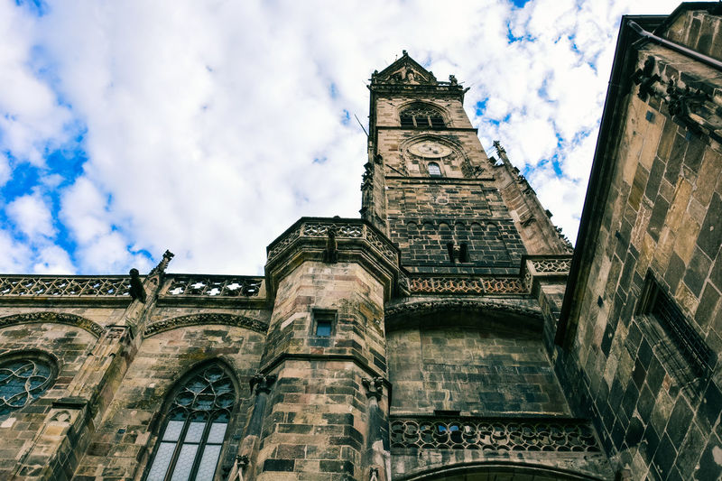 Bolzano - Bozen Church EyeEm EyeEm Best Shots EyeEm Selects EyeEm Gallery EyeEmBestPics Ancient Civilization Architecture Belief Building Building Exterior Built Structure Clock Cloud - Sky Eyeemphotography Low Angle View Marco Vittorio Marco Vittorio Fotografo Marco Vittorio Photography Religion Sky Spirituality The Past Tower