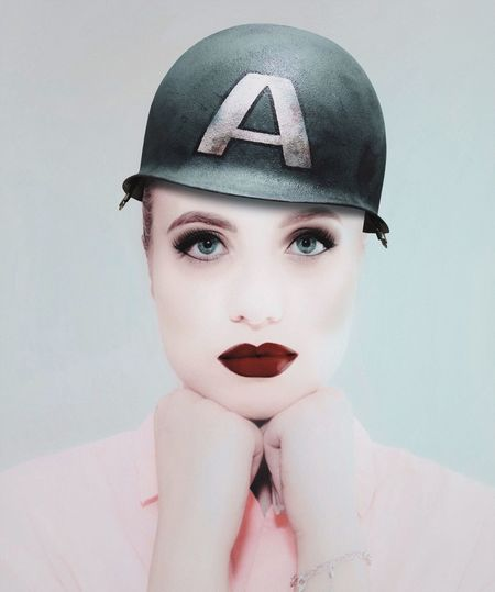 - A. - The Portraitist - 2018 EyeEm Awards Check This Out A Helmet Only Women One Woman Only Adults Only Adult One Young Woman Only Portrait One Person Beauty Beautiful Woman Looking At Camera People Young Adult Headwear Headshot Human Body Part Women Beautiful People Studio Shot Young Women Close-up Visual Creativity The Creative - 2018 EyeEm Awards International Women's Day 2019