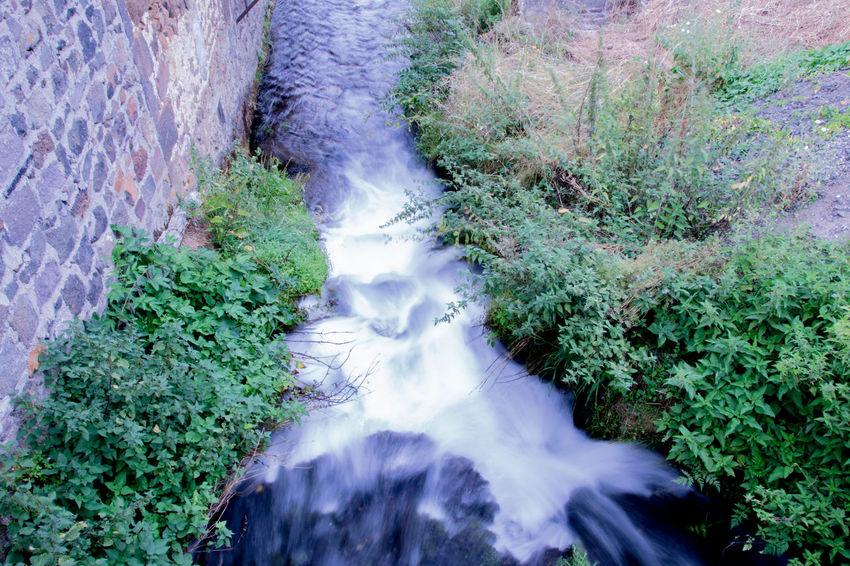 Auvergne Beauty In Nature Blurred Motion Ceyssat Day Environment Flowing Green Color Long Exposure Motion Nature Non-urban Scene Outdoors Plant Power In Nature Purity Puy De Dôme Rock Rock Formation Scenics Stream Tourism Vacations Water Waterfall