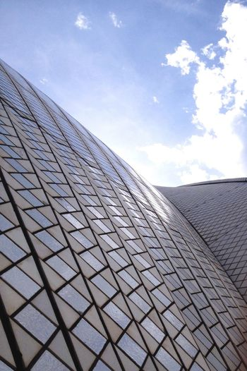 The sails of the opera house Showcase April Australia Operahouse Sydney Design Building Building Exterior Buildings & Sky Close Up Street Photography The Architect - 2015 EyeEm Awards