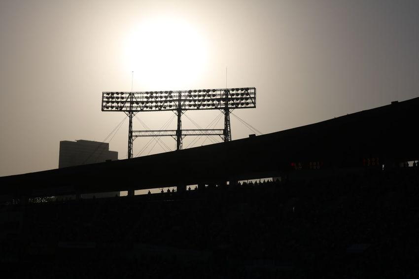 Jamsil Baseball Stadium : Doosan vs. LG Twins Baseball Outdoors Seoul Sunset